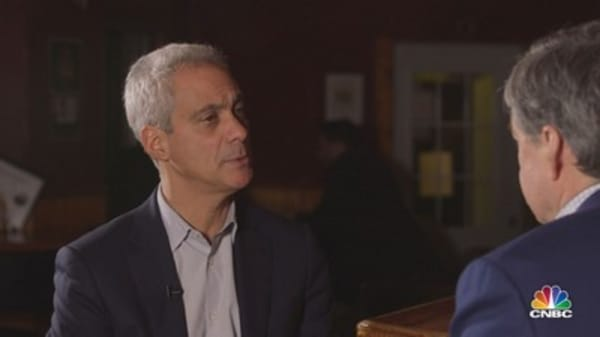 Emanuel on business silence over trade: I want to know how sincere you are