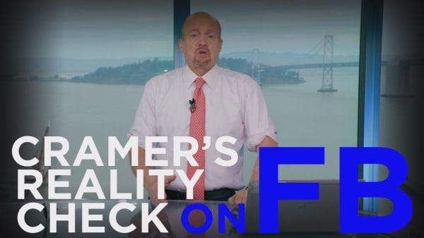 Cramer Remix: The market misunderstands Facebook