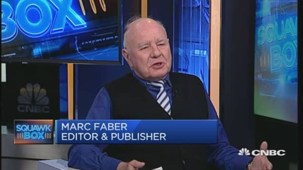Why Marc Faber is overweight EMs