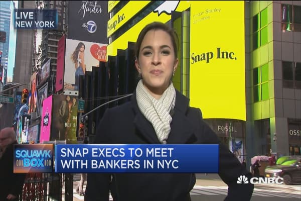 Snap roadshow hits NYC