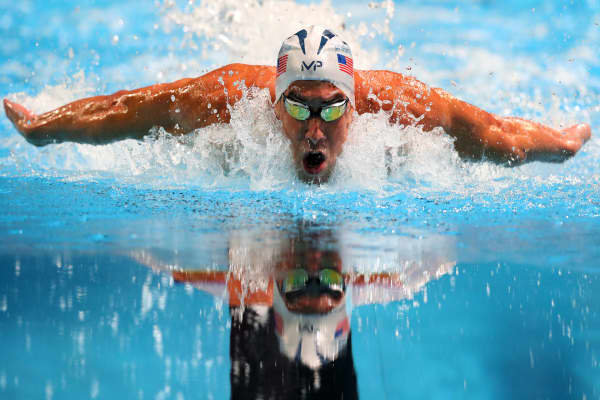 Michael Phelps' habits for success