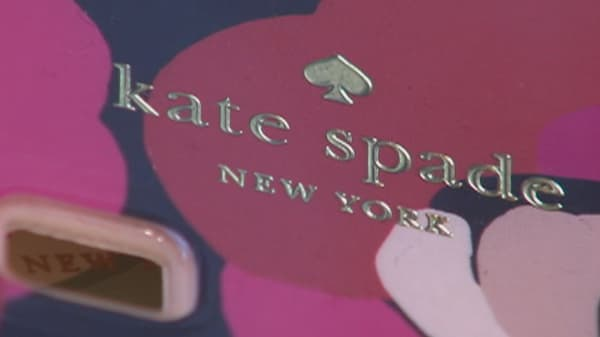 Kate Spade stock jumps on takeover talk