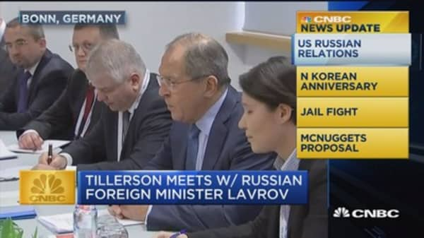 News Update: US Russian relations