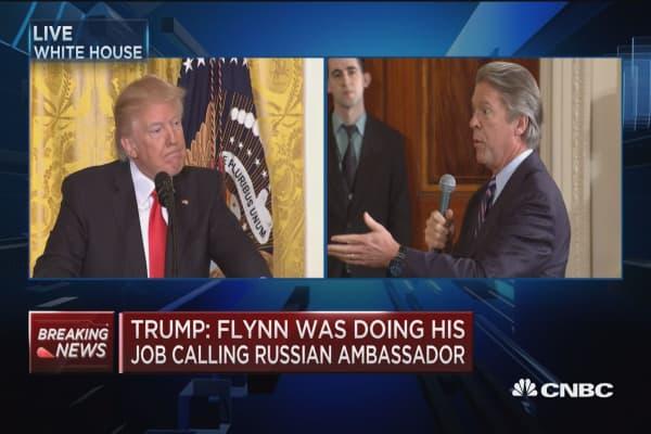 Trump: I don't think Putin is testing me