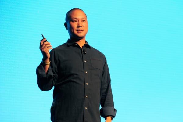 Zappos CEO Tony Hsieh.