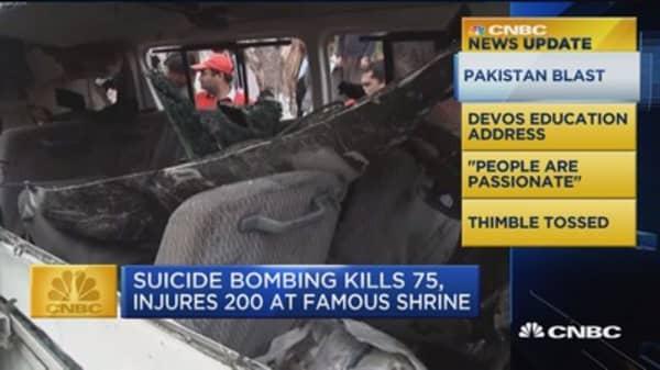 CNBC update: Pakistan blast