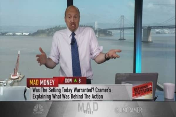 Moron sellers skewing valuation of these stocks, says Cramer