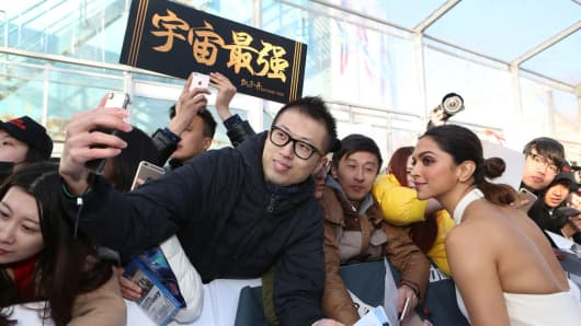 Deepika Padukone attends a publicity event for the Paramount Pictures title 'xXx: Return of Xander Cage' on February 9, 2017 in Beijing, China.