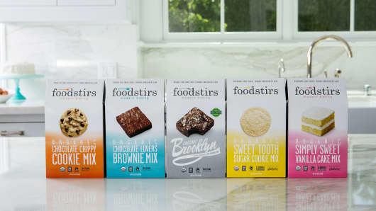 Foodstirs' product line contains a variety of mixes, all organic and GMO-free