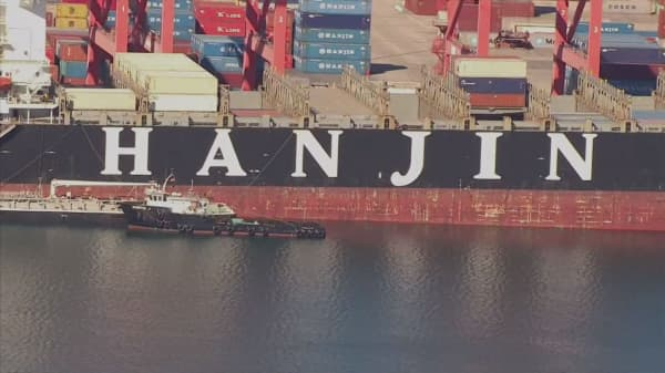 Court declares Hanjin Shipping bankrupt