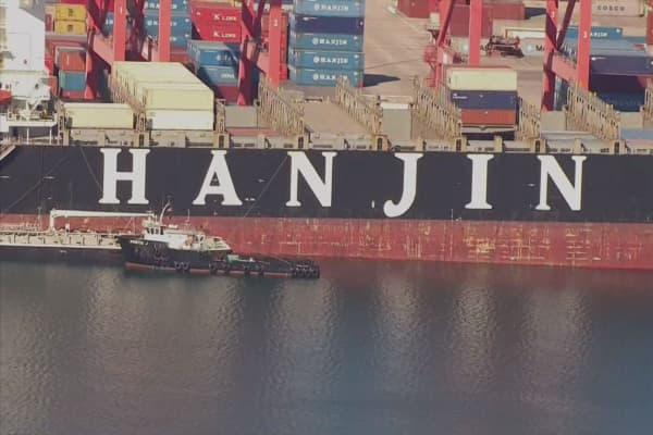 Court declares Hanjin Shipping bankrupt