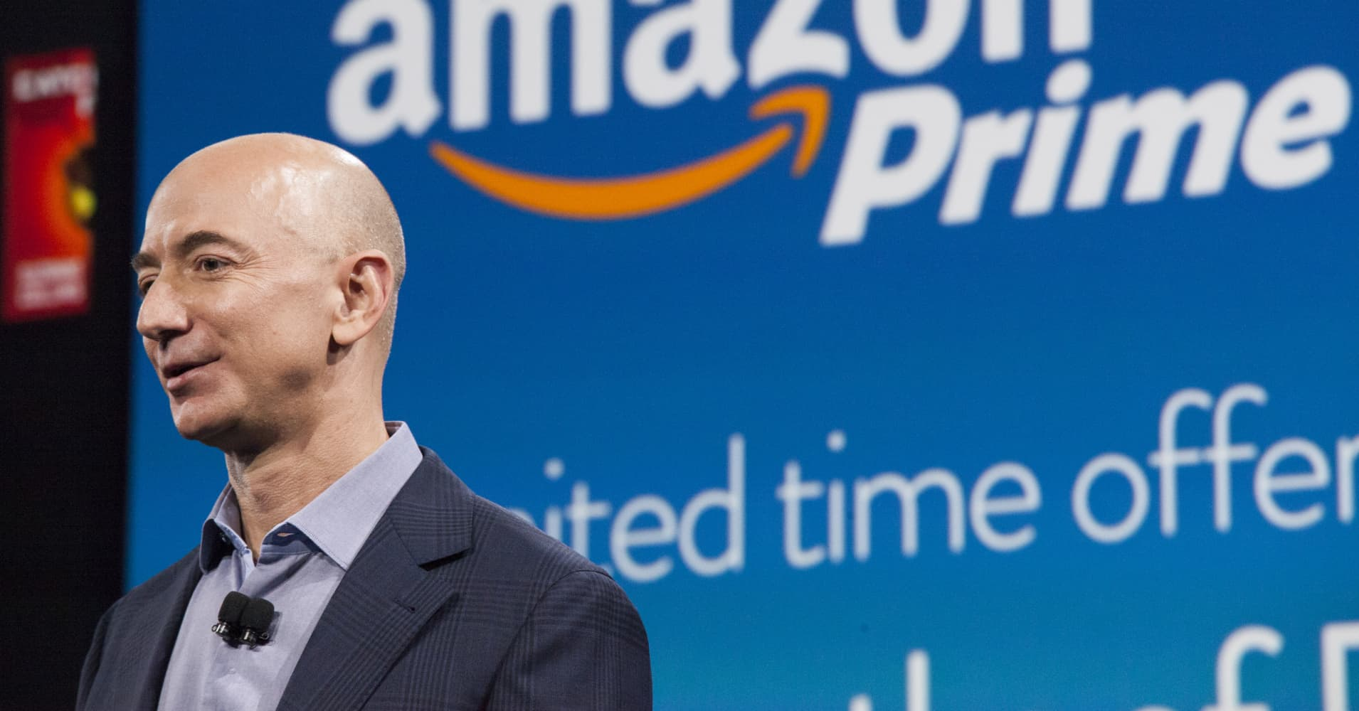 Amazon's Jeff Bezos surpasses $100 billion net worth