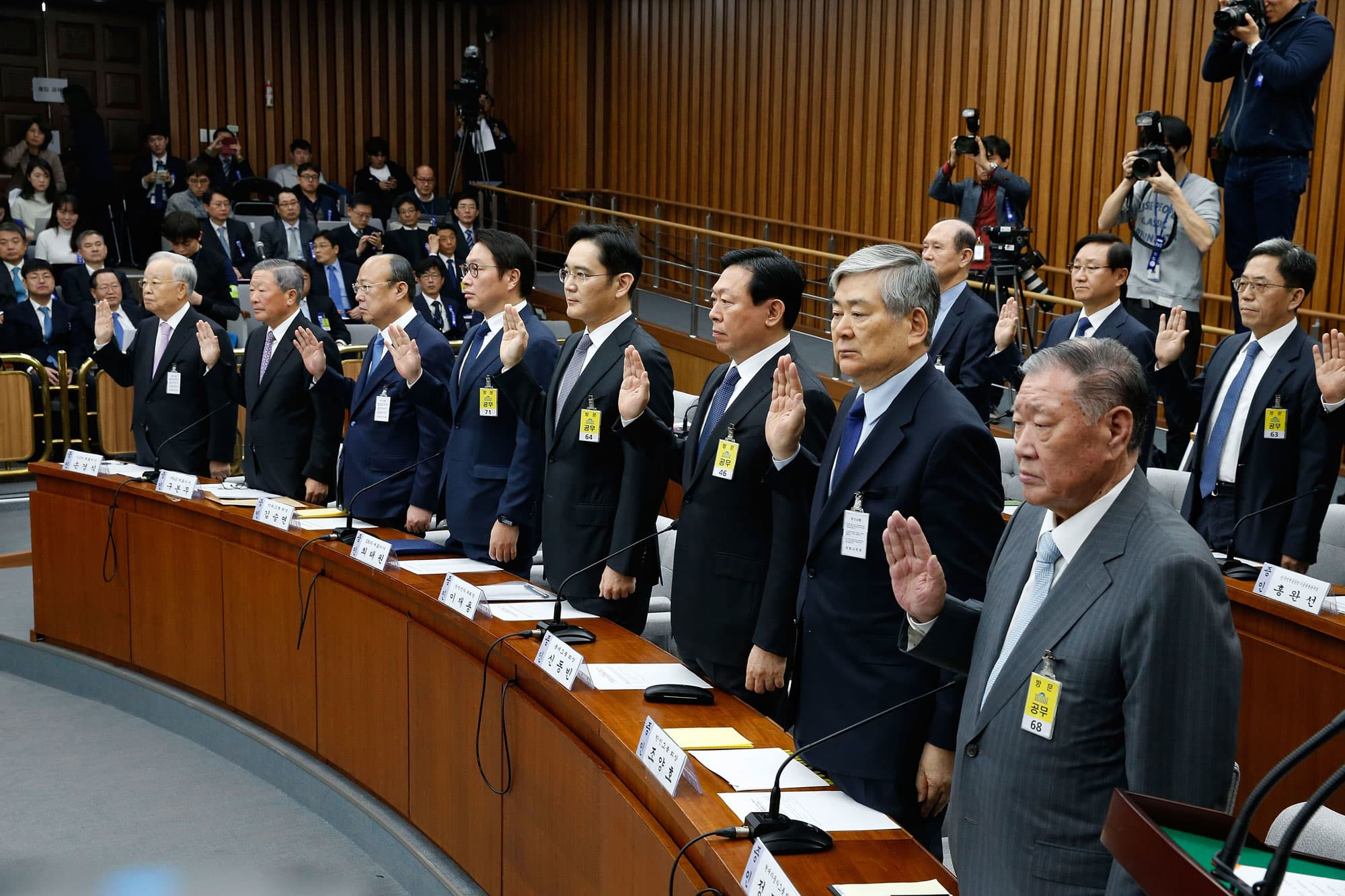 the political parties of south korea the chaebol