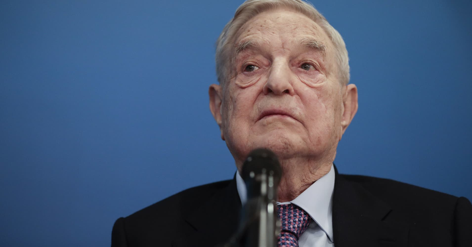 Billionaire liberal donor George Soros may continue midterm investment
