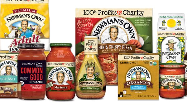 Newman's Own products.