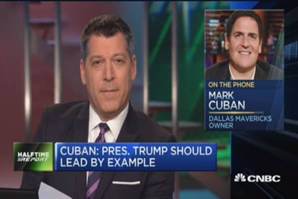 Cuban: Amazon & Netflix are my two biggest holdings