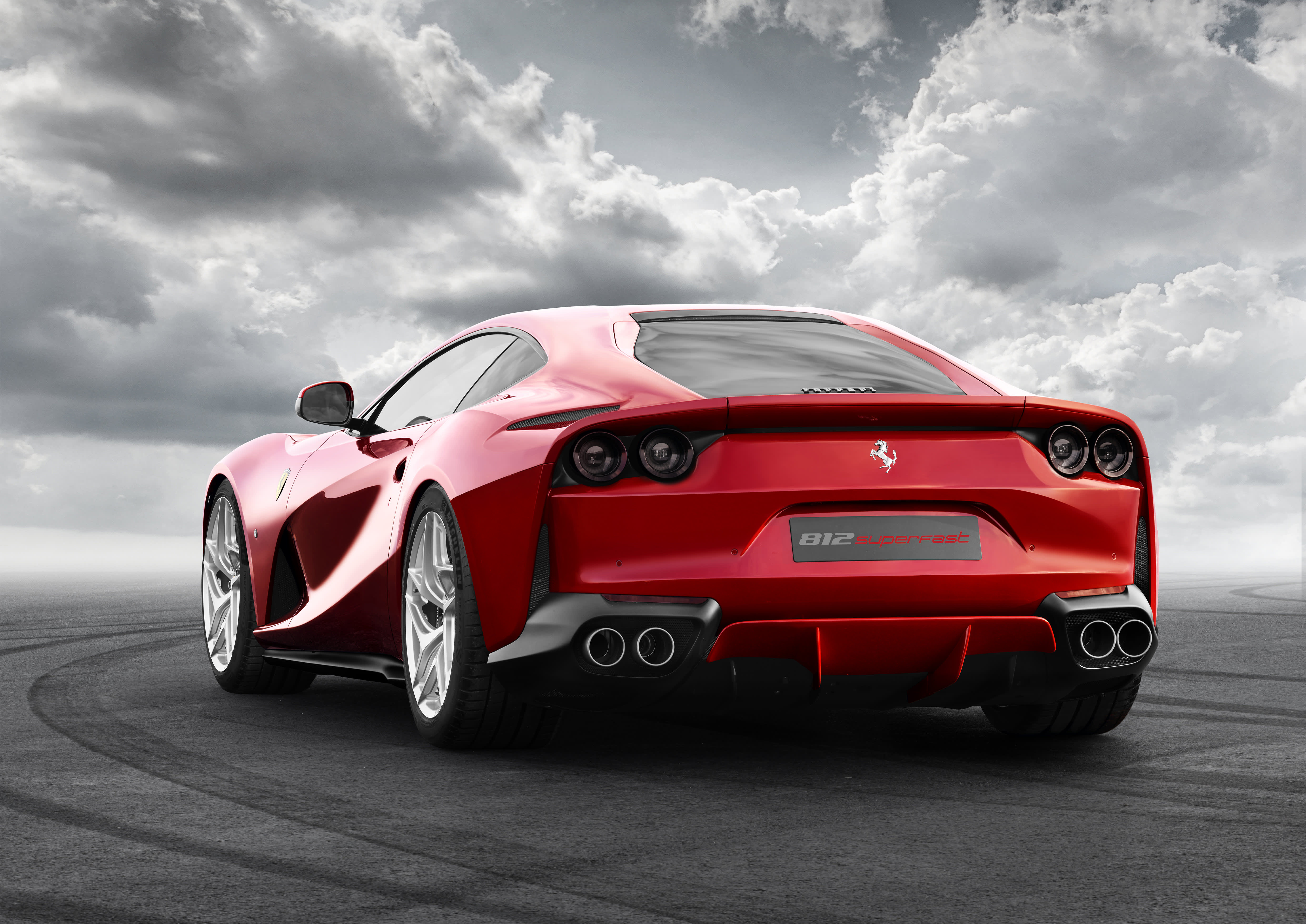 ferrari just unveiled its most powerful production car ever