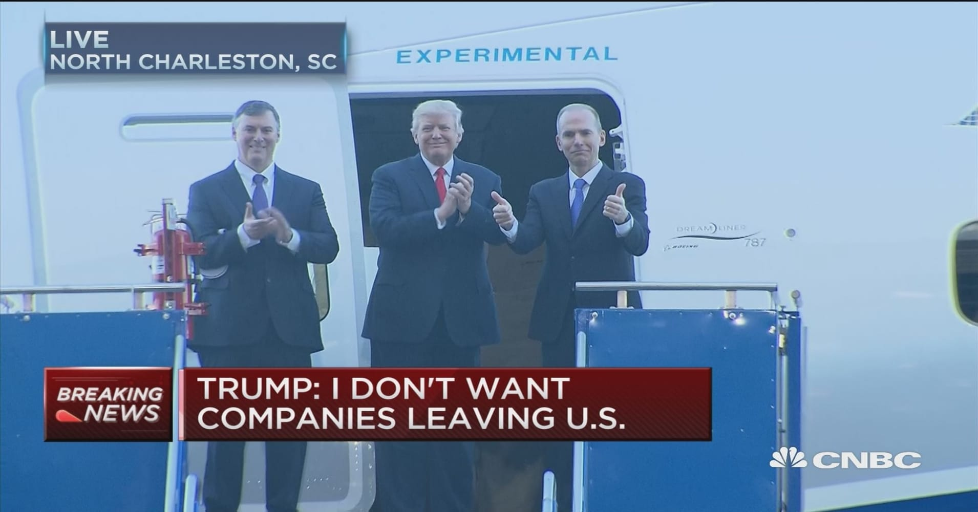Highlights from trumps trip to boeing plant in charleston malvernweather Images