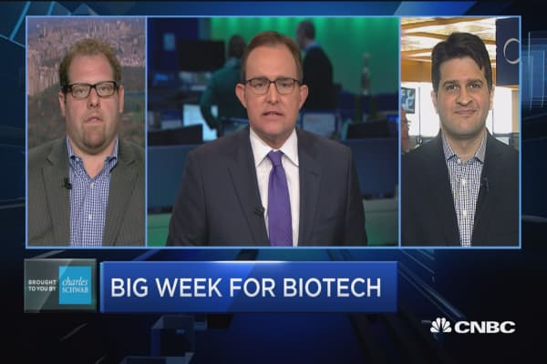 Trading Nation: Big week for biotech