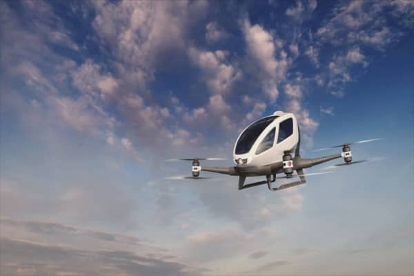 This is Dubai's new flying taxi