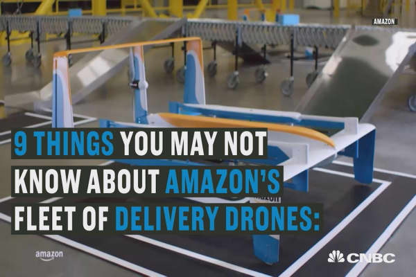Amazon Prime Air will deliver your package to your door
