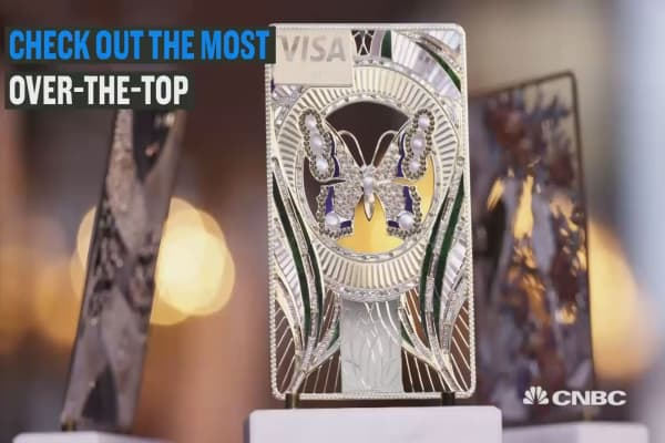 Check out the most over-the-top credit cards ever made