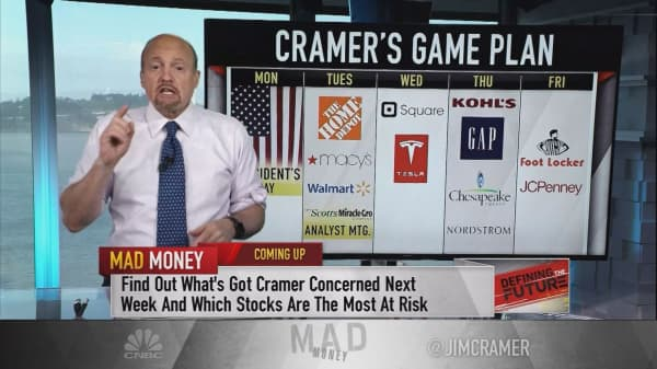Cramer's game plan: Possible retail blood bath