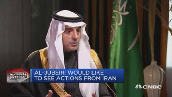 Trump a friend to everyone: Saudi foreign minister