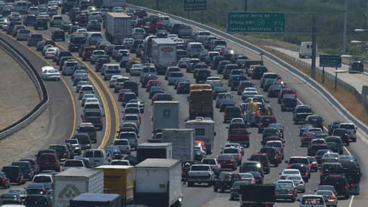 Traffic In Los Angeles >> Traffic Study Ranks Los Angeles As World S Most Clogged City