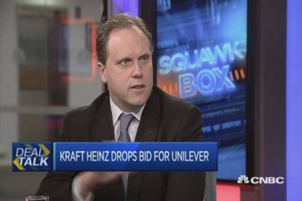 Unilever, Kraft-Heinz deal buzz not over yet