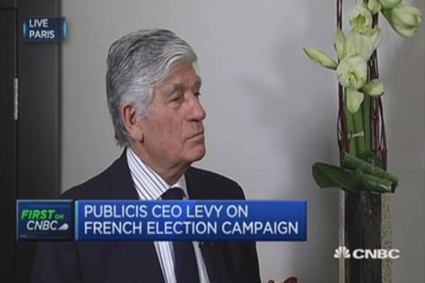 Le Pen does not have the slightest chance of election: Publicis CEO