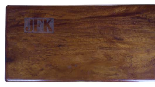 President John F. Kennedy's cigar box