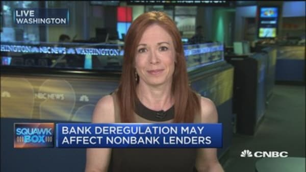 Game over for non-bank lenders if Trump brings in deregulation?