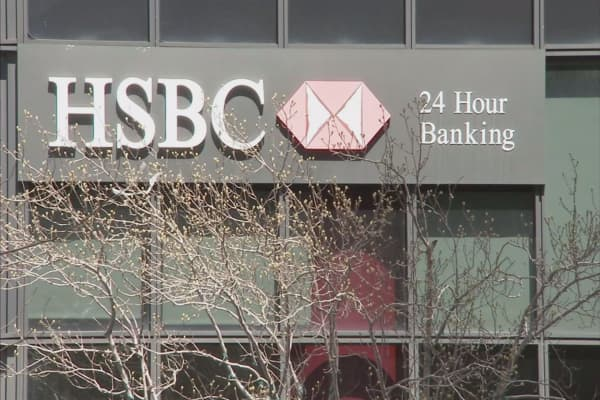 HSBC earnings nose diving