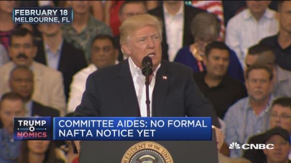NAFTA talk but no action
