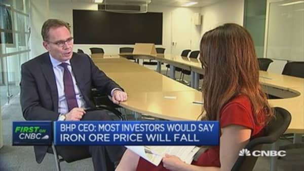 I would rather we didn't have a strike: BHP CEO