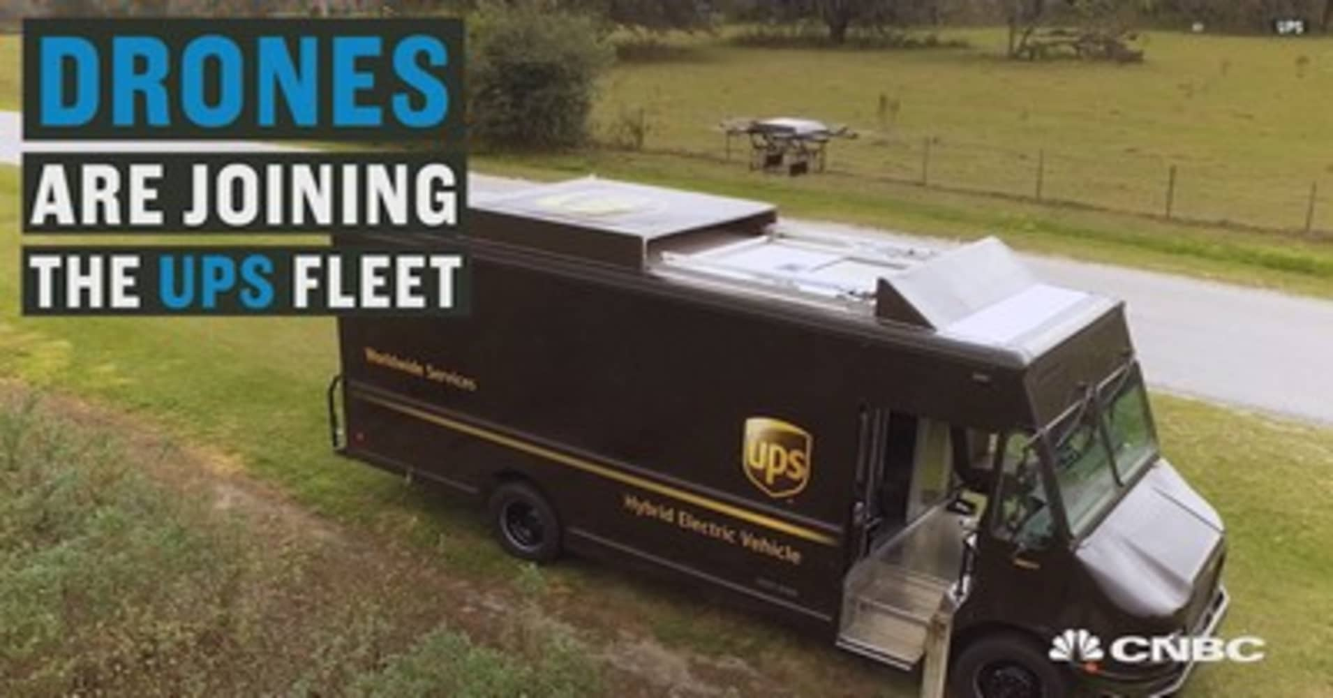 UPS Tests Drone Deliveries Via High Tech Truck