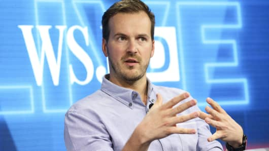 Taavet Hinrikus, co-founder and chief executive officer of TransferWise