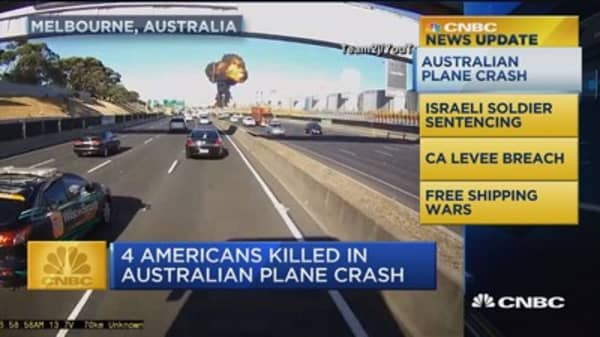 CNBC update: Australian plane crash