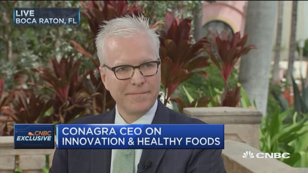 ConAgra CEO: When you restart a company, you've got to rebuild the innovation pipeline from scratch