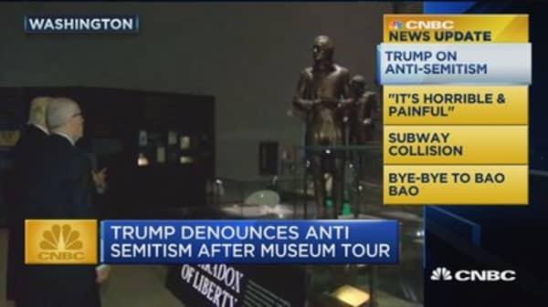CNBC update: Trump on anti-semitism