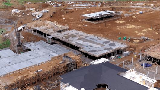 DroneDeploy customer Brasfield & Gorrie General Contractors' construction site