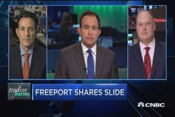 Trading Nation: Is Freeport's big run done?