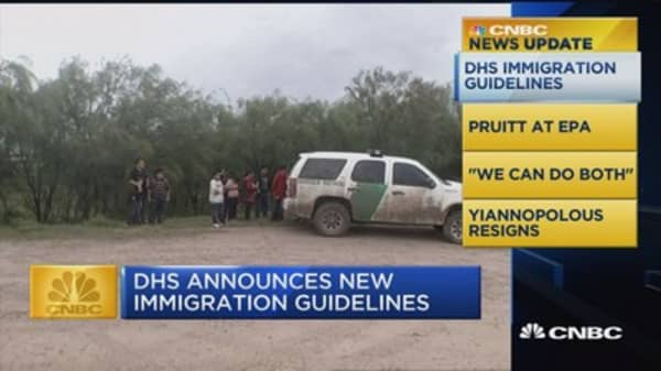 CNBC update: DHS immigration guidelines