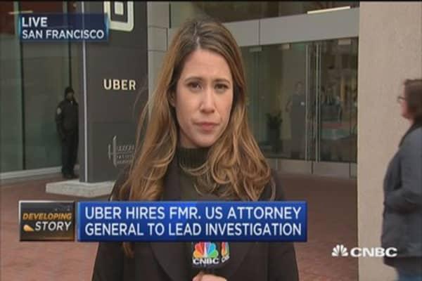 Uber's image problem?