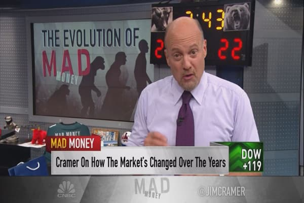 The Great Recession changed Cramer's approach forever