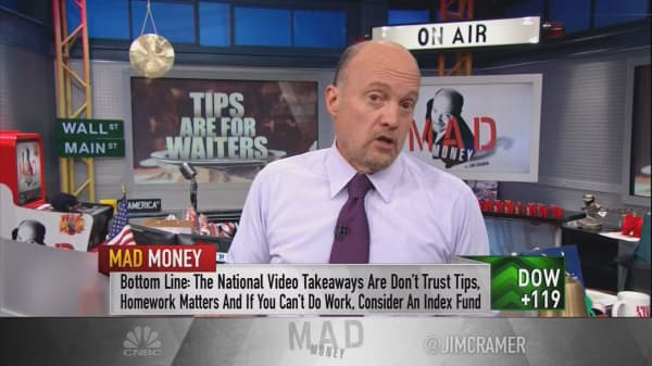 Cramer's top 4 rules for owning stocks