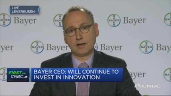 Bayer CEO: We price drugs in line with innovation potential