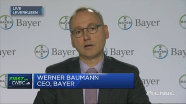 Pharma business is doing very well: Bayer CEO