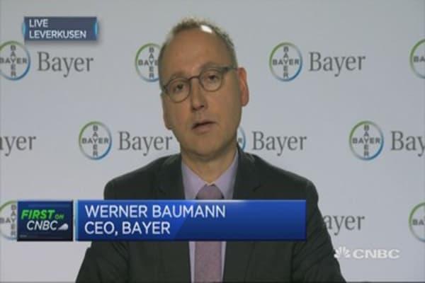 Pharma business is doing very well: Bayer CEO
